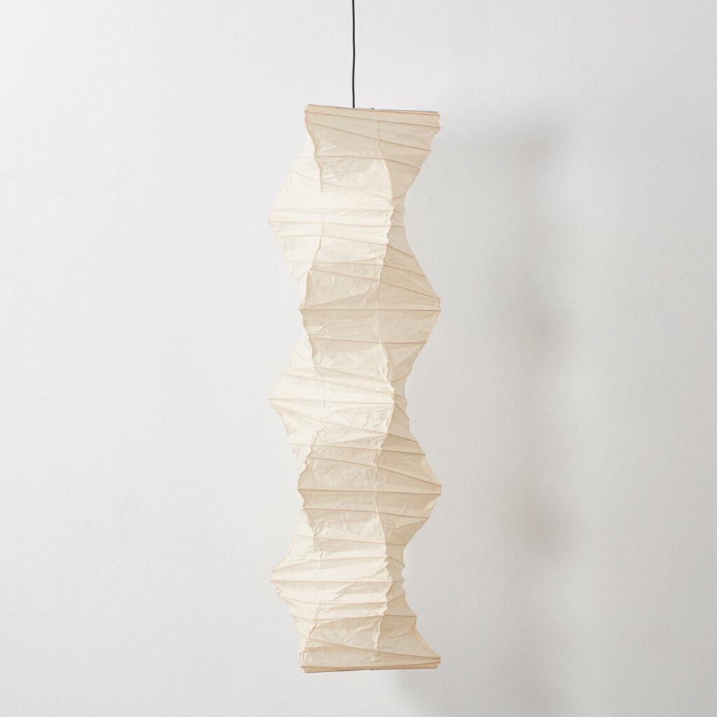Isamu Noguchi Akari paper pendant