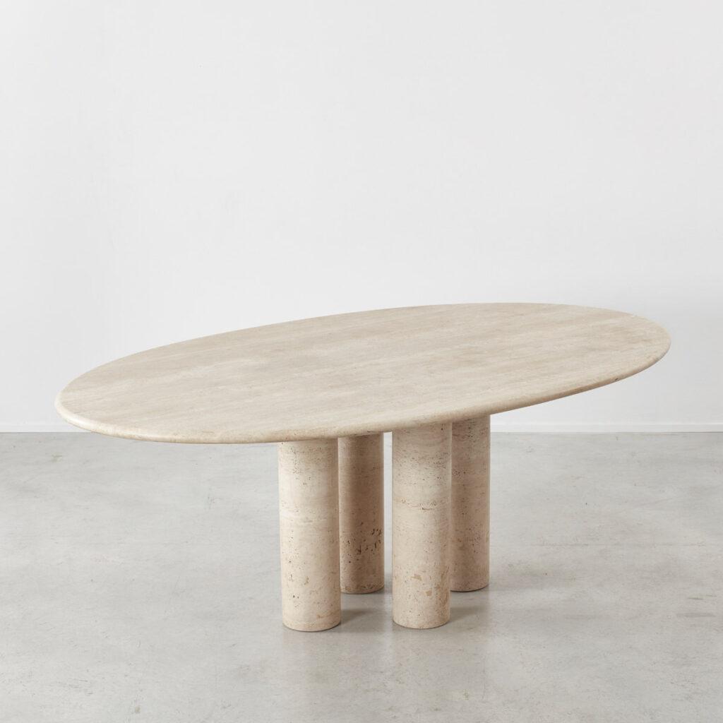 Mario Bellini oval Il Colonnato table