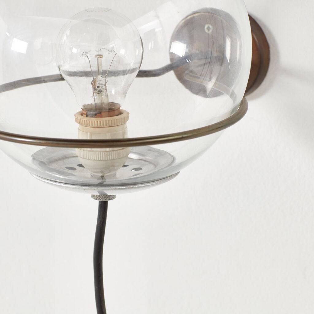 Pair Gino Sarfatti 238/1 wall lamps