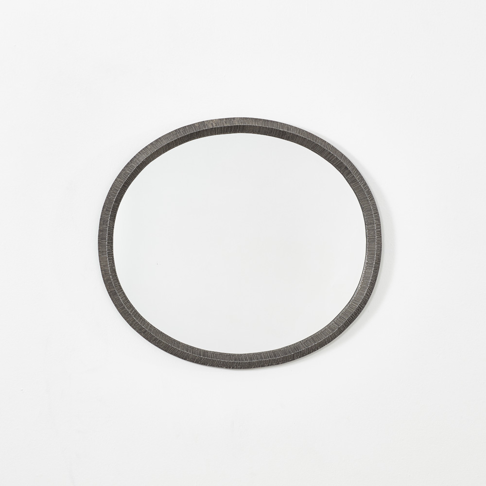 Lorenzo Burchiellaro cast aluminium mirror