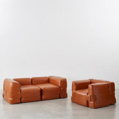 Mario Bellini 932 Quartet sofa & chair