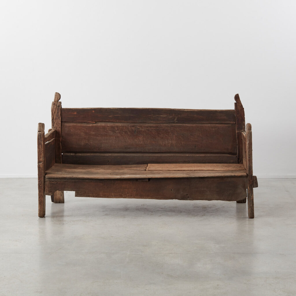 Weathered Galician Bench