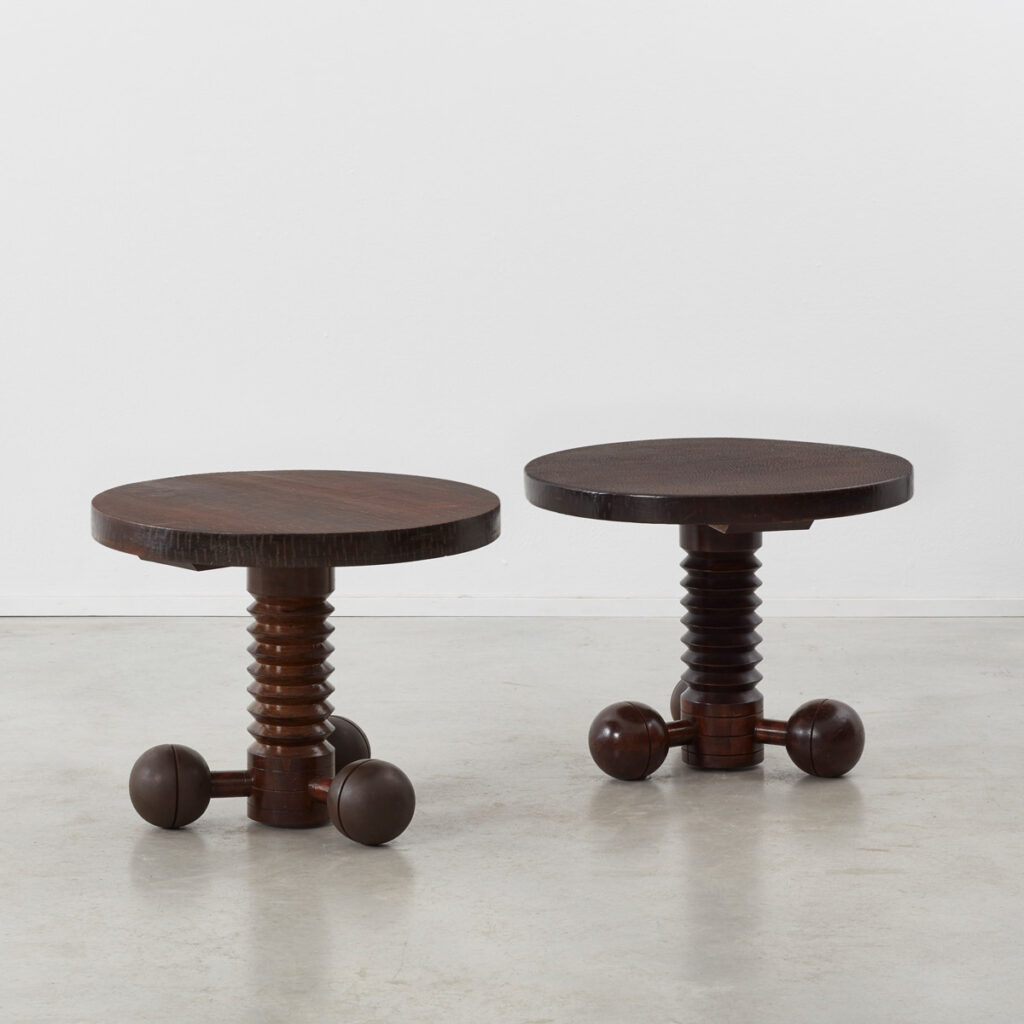 Charles Dudouyt Gueridon tables