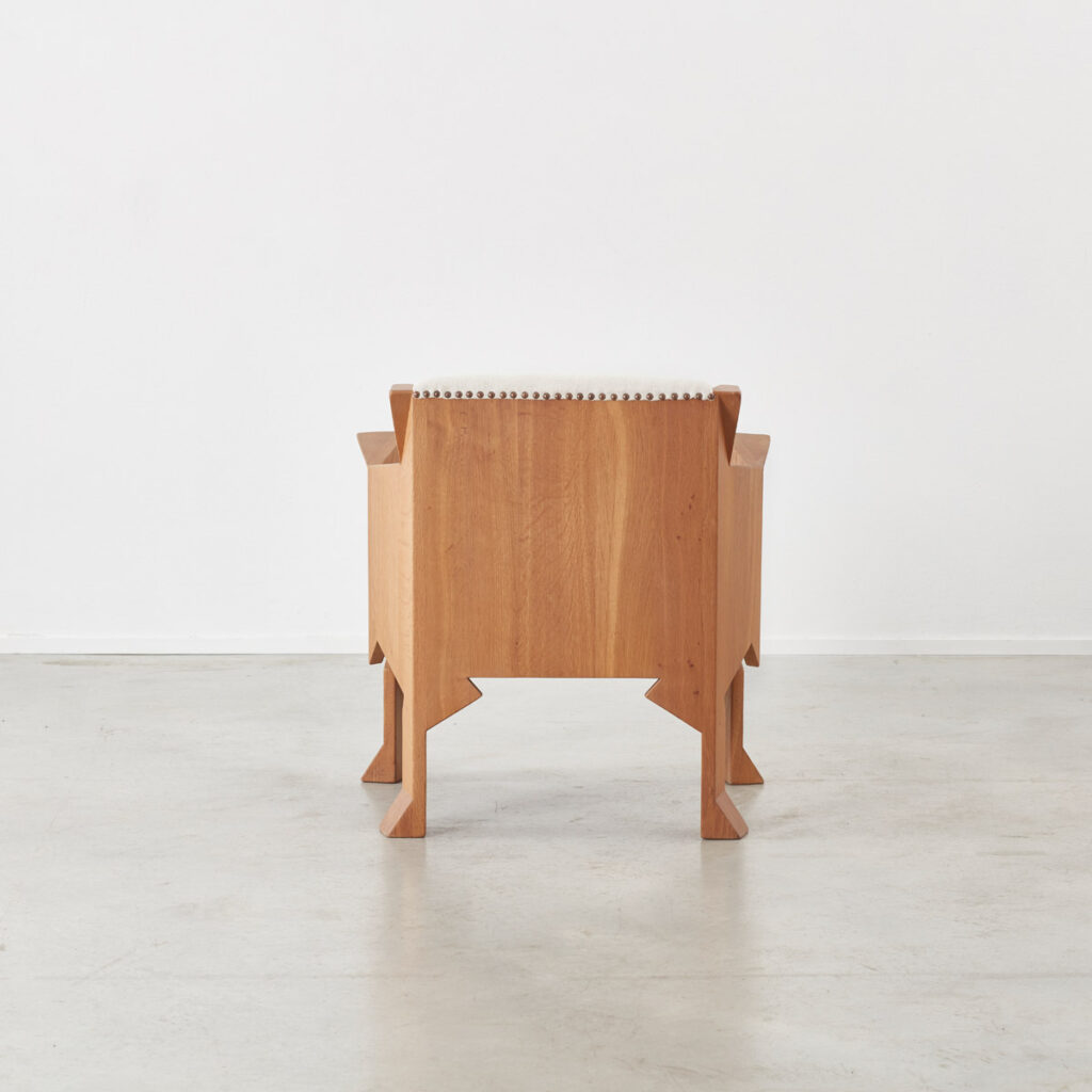 Hand crafted Anthroposophical chair