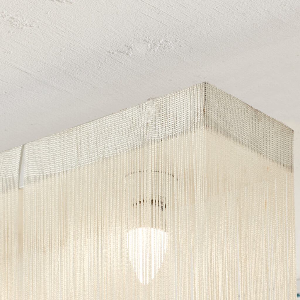 Mariyo Yagi 'Garbo' fringed ceiling light