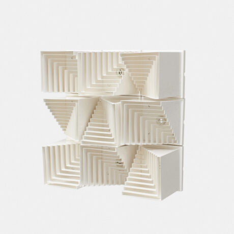 White modular wall/ceiling lamps