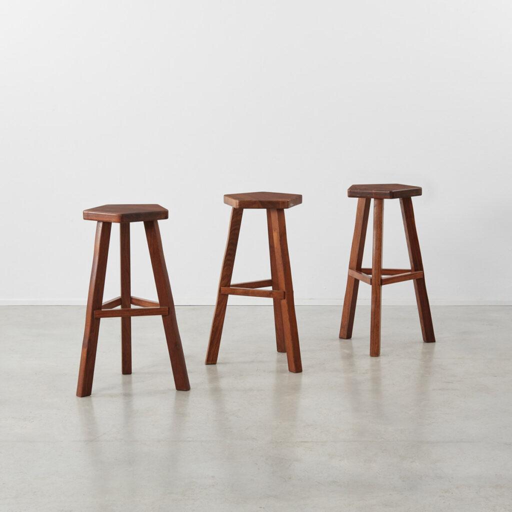 Olavi Hänninen wooden stools
