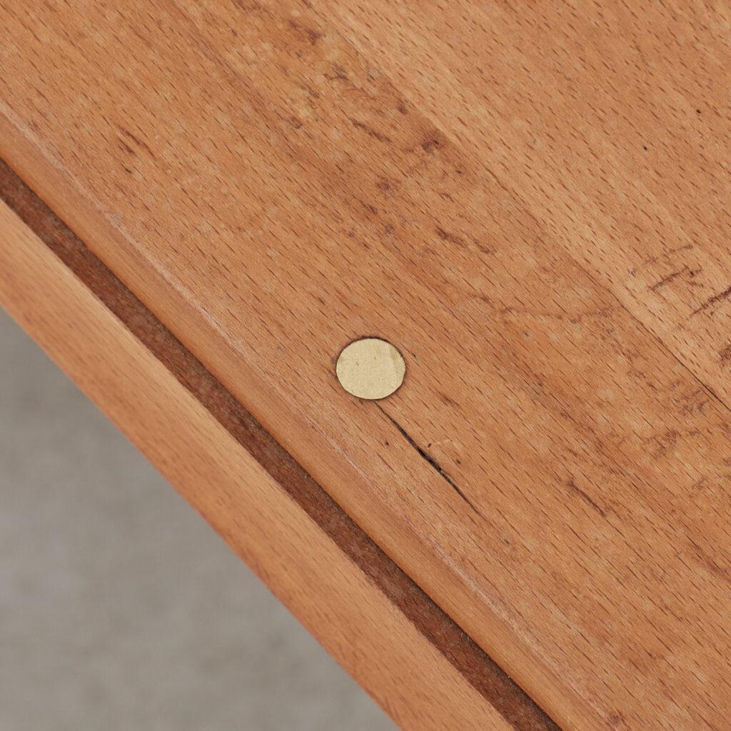 Constructivist oak tables / desks