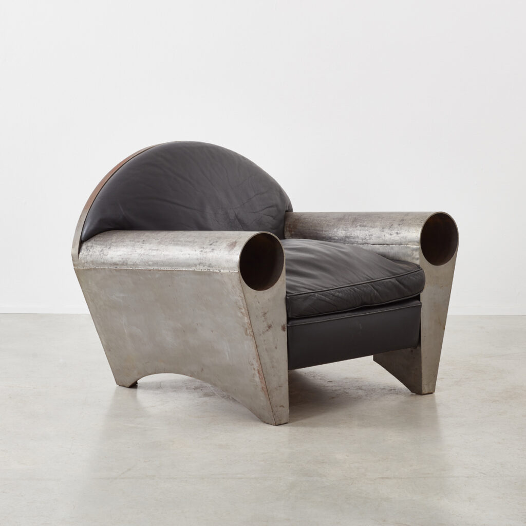 Peter Thode steel lounge chair