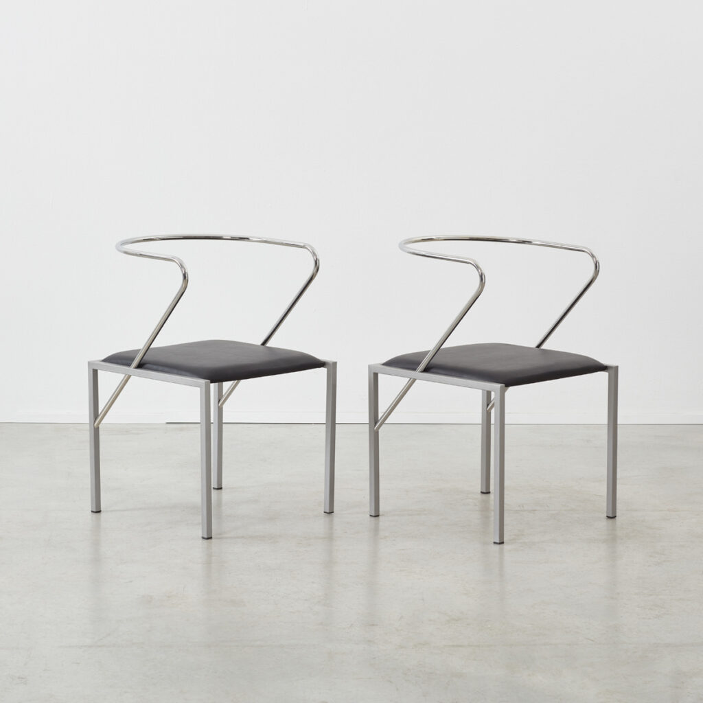 S Kuramata Apple Honey chairs