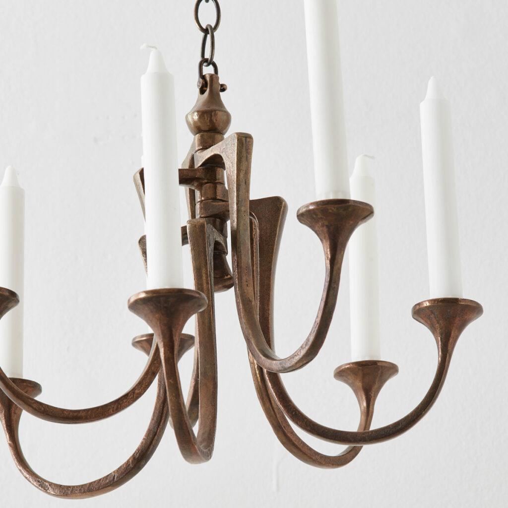 Peter Van Heeck candle chandelier