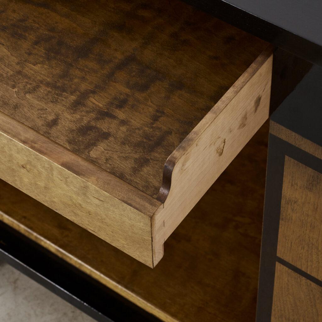 Otto Schulz inlaid sideboard