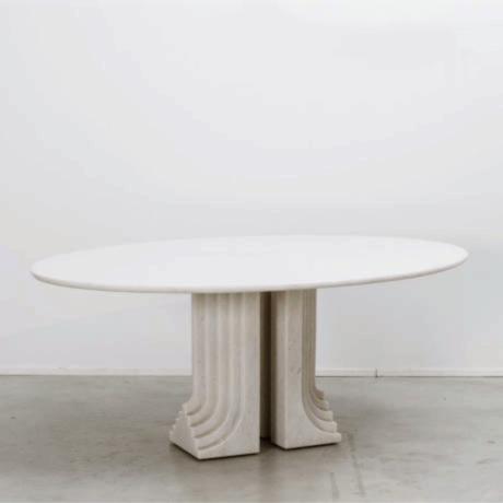 Carlo Scarpa marble Samo table