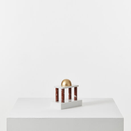 Architectural sculpture by Sottsass (1)
