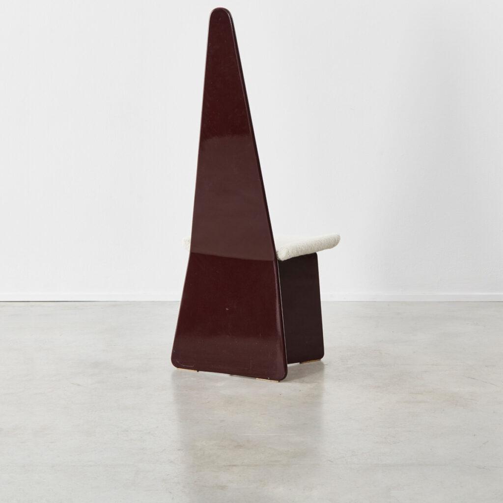 Claudio Salocchilacquered chairs