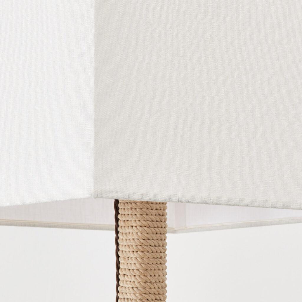Audoux & Minet attr. rope lamp