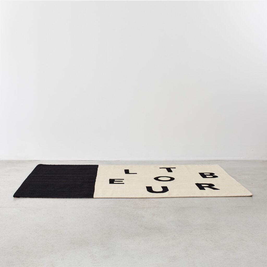 Philippe Cazal 'Trouble' rug