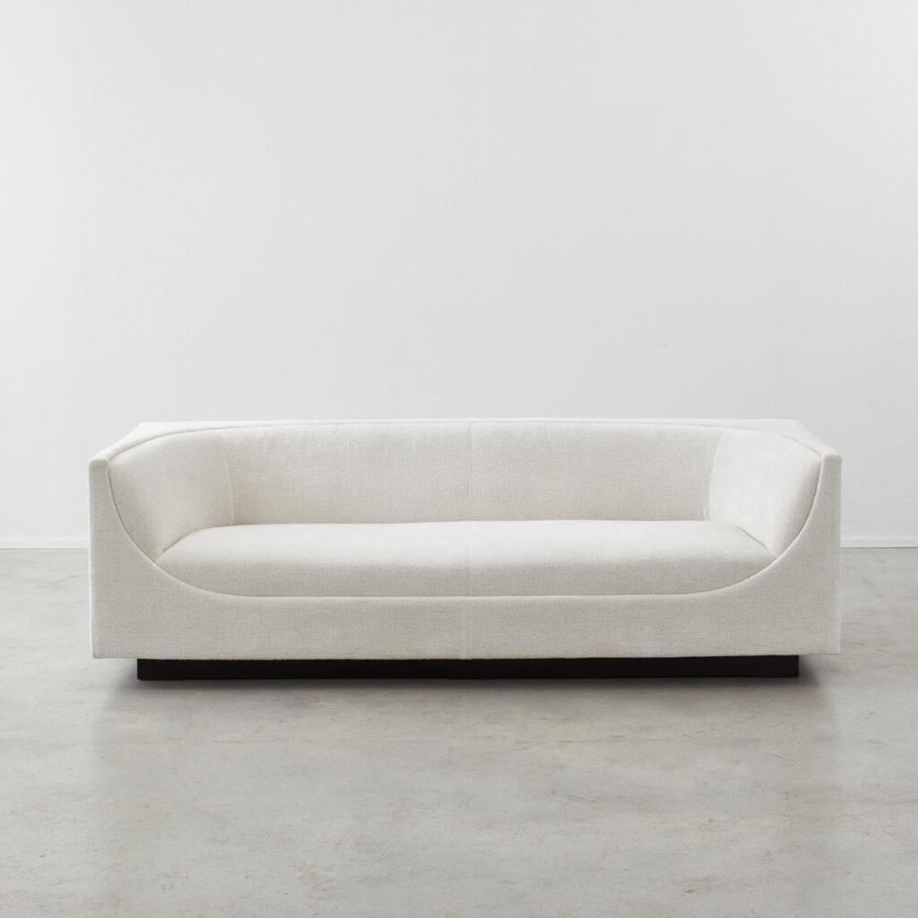 Jorge Zalzupin Cubo three-seater sofa
